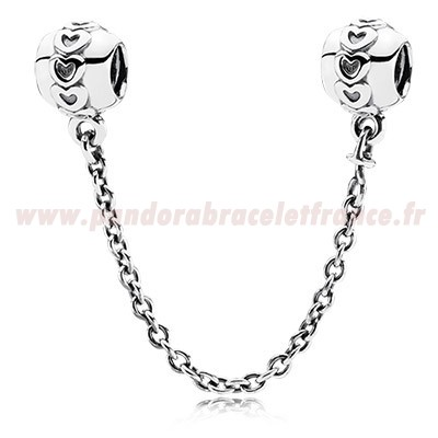 Revendeur Pandora Pandora Chaines De Securite Amour Connection Safety Chain Pas Cher