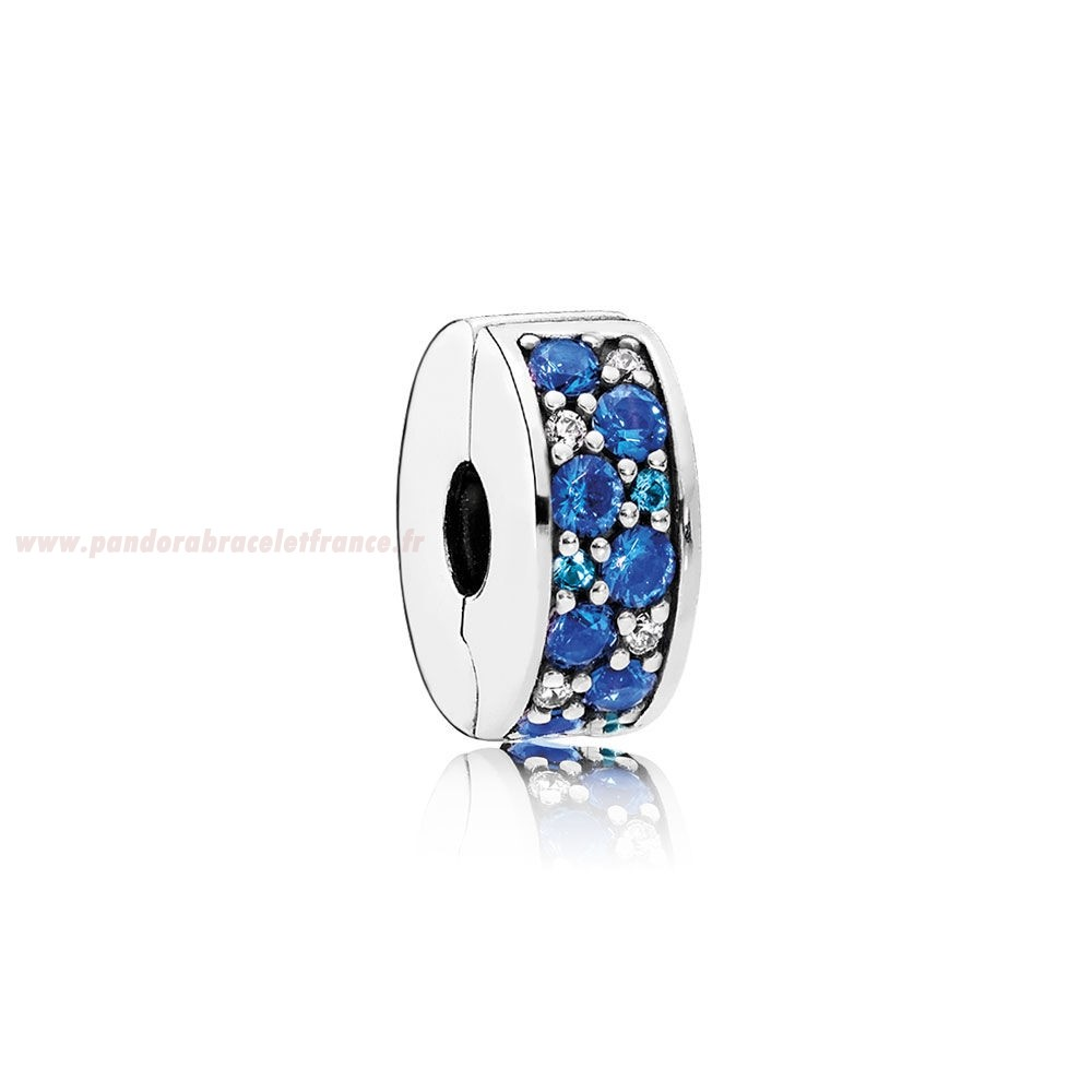 Revendeur Pandora Pandora Charms De Couleur Mosaique Brillant Elegance Clip Multi Coloured Crystals Clear Cz Pas Cher