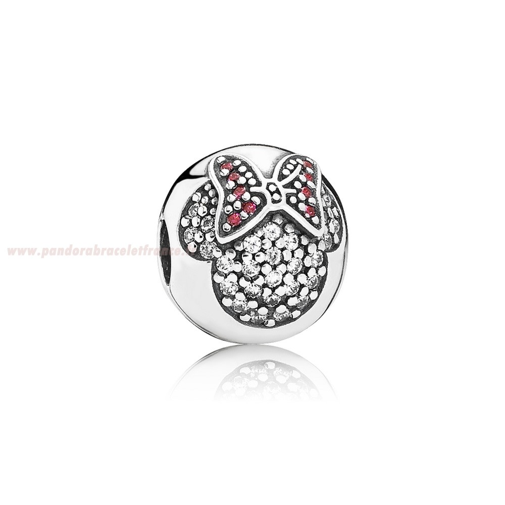 Revendeur Pandora Pandora Disney Collection Disney Minnie Pave Clip Pas Cher