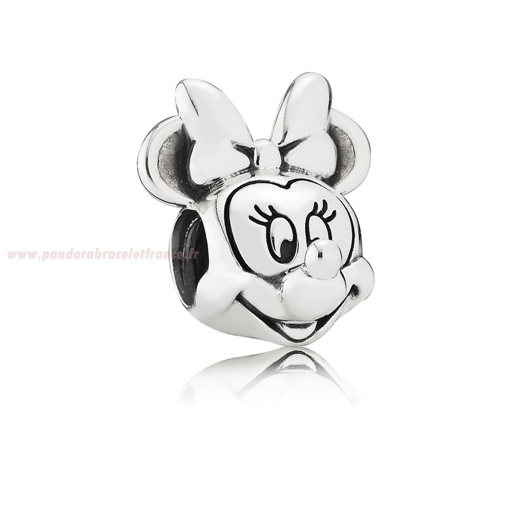 Revendeur Pandora Pandora Disney Collection Disney Minnie Portrait Charm Pas Cher