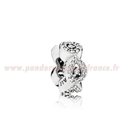 Revendeur Pandora Pandora Passions Charms Chic Glamour Cascading Glamour Spacer Clear Cz Pas Cher