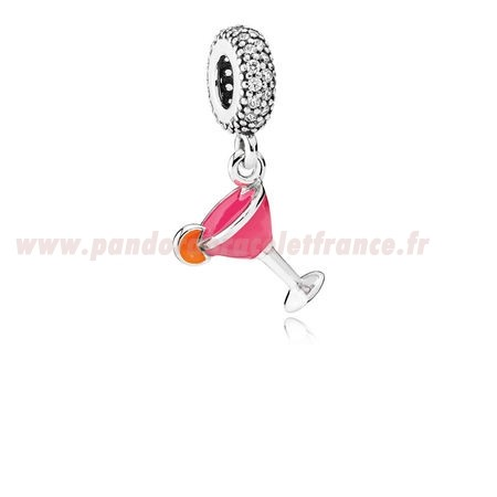 Revendeur Pandora Pandora Passions Charms Chic Glamour Fruite Cocktail Charm Mixed Email Clear Cz Pas Cher