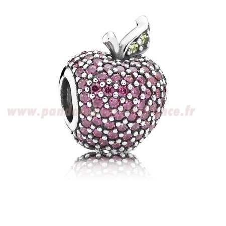 Revendeur Pandora Pandora Sparkling Paves Charms Red Pave Apple Charm Fancy Red Cz Vert Crystal Pas Cher